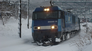 EH200電気機関車ブルーサンダー特集 Popular locomotive in japan