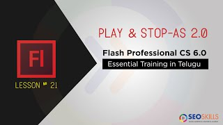 Action script 2.0 - Play and Stop Function in Adobe Flash CS6 :: # Best AS 2.0 Tuts