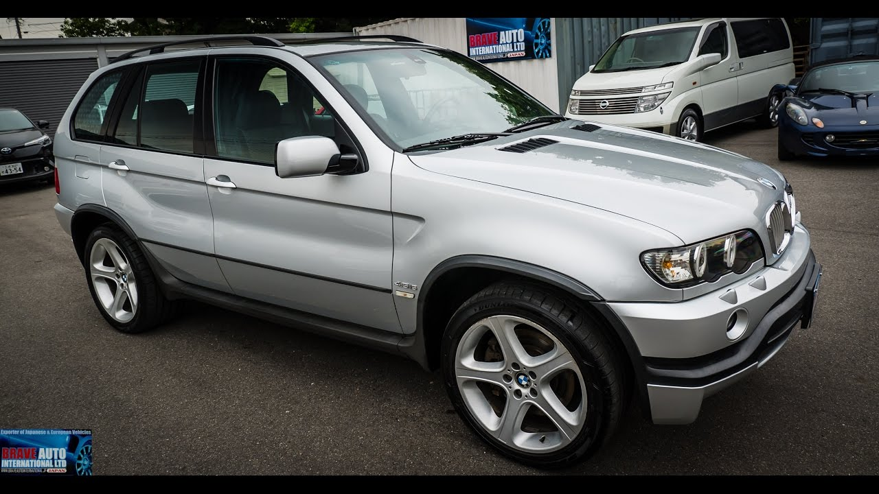 Walk Around Test Drive 2002 Bmw X5 4 6is Jdm Car