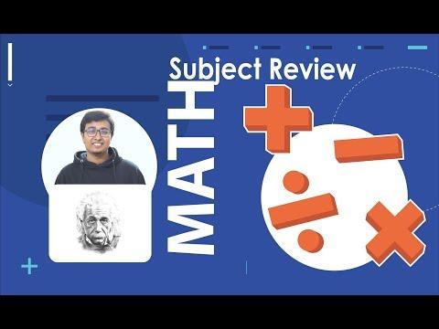 Mathematics & Applied Mathematics (গণিত) : Subject Review