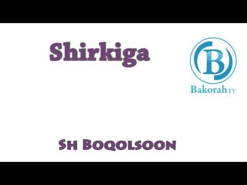 Shirkiga by Sh Boqolsoon
