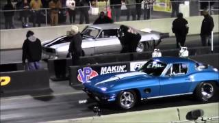 Tony Bynes & Mark Woodruff's Wreck at SGMP - Detroit HoodTV, DragCoverage.com