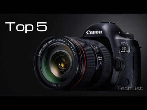 Best Camera - Top 5 DSLR Cameras 2018