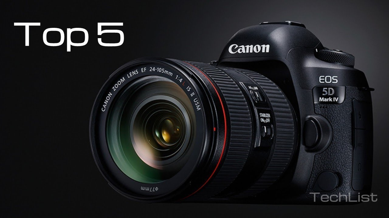 Best Camera - Top 5 DSLR Cameras 2018 - YouTube