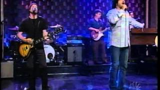Counting Crows American Girls on Late Night 2002