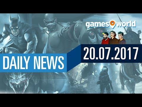 Drei neue Telltale-Spiele, AC: Origins, Overwatch, Titanfall 2   Gamesworld Daily News - 20.07.2017