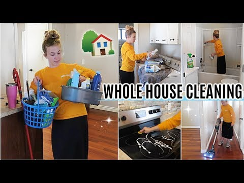WHOLE HOUSE CLEANING 2019   LAST CLEANING VIDEO IN THIS HOUSE!   EXTREME CLEANING MOTIVATION