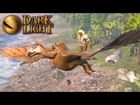 FLYING ON VULTURES VROCK!! DARK and LIGHT Early Access Gameplay Ep3