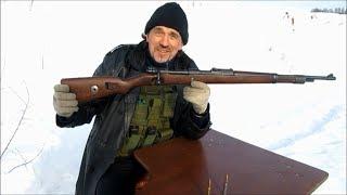 Mauser 98k 'Сумрачный немецкий гений' Стрельба на 500 без оптики!!