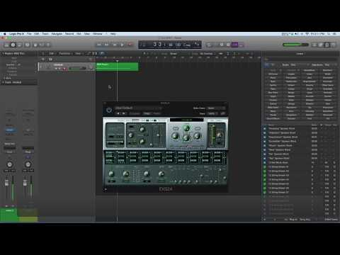 LOGIC Pro X  Pitch Bend