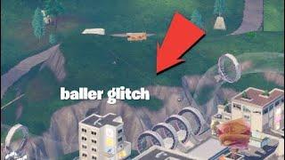 Fortnite baller glitch