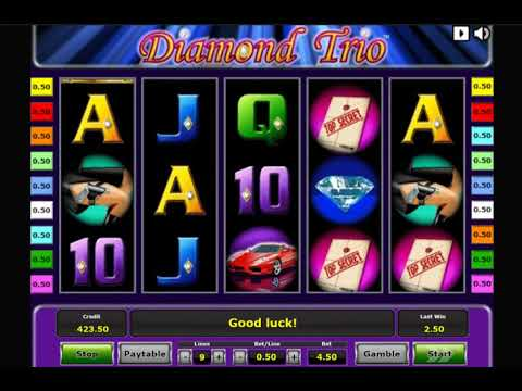 Игровой автомат DIAMOND TRIO играть бесплатно и без регистрации онлайн