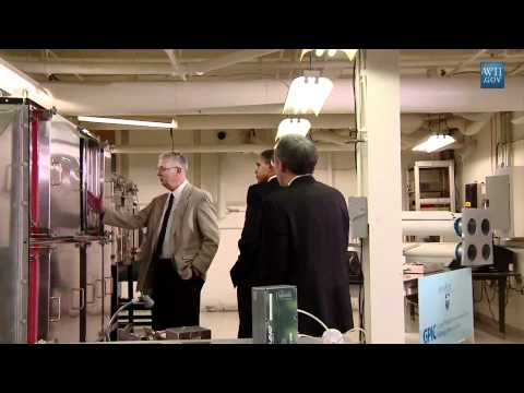 President Obama Tours Our Energy Innovation Lab