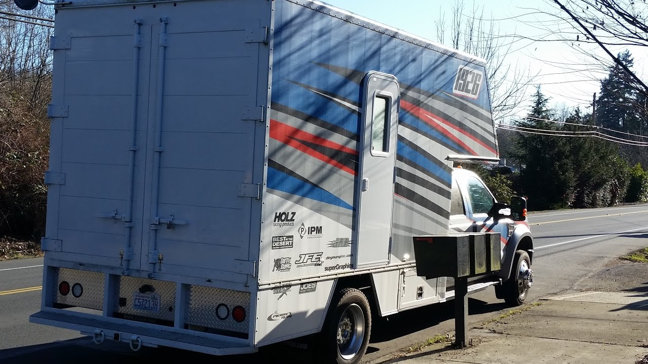 Box Truck to RV conversion, Weekend's progress