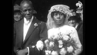 1920 - 3 wedding films (speed corrected w/ added sound)