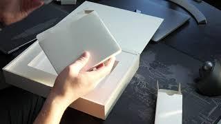 распаковка HUAWEI MateBook X Pro