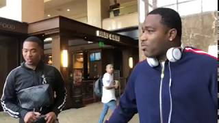 Adrien Broner took the whole Cincinnati to Girls Collection after his fight - esnews