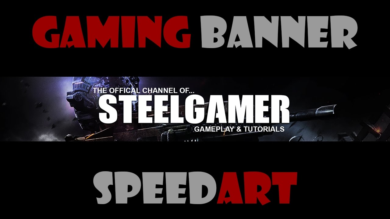 Download Gaming Banner SpeedArt
