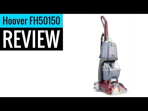 Hoover Power Scrub Deluxe Carpet Washer Fh50150 Review Youtube