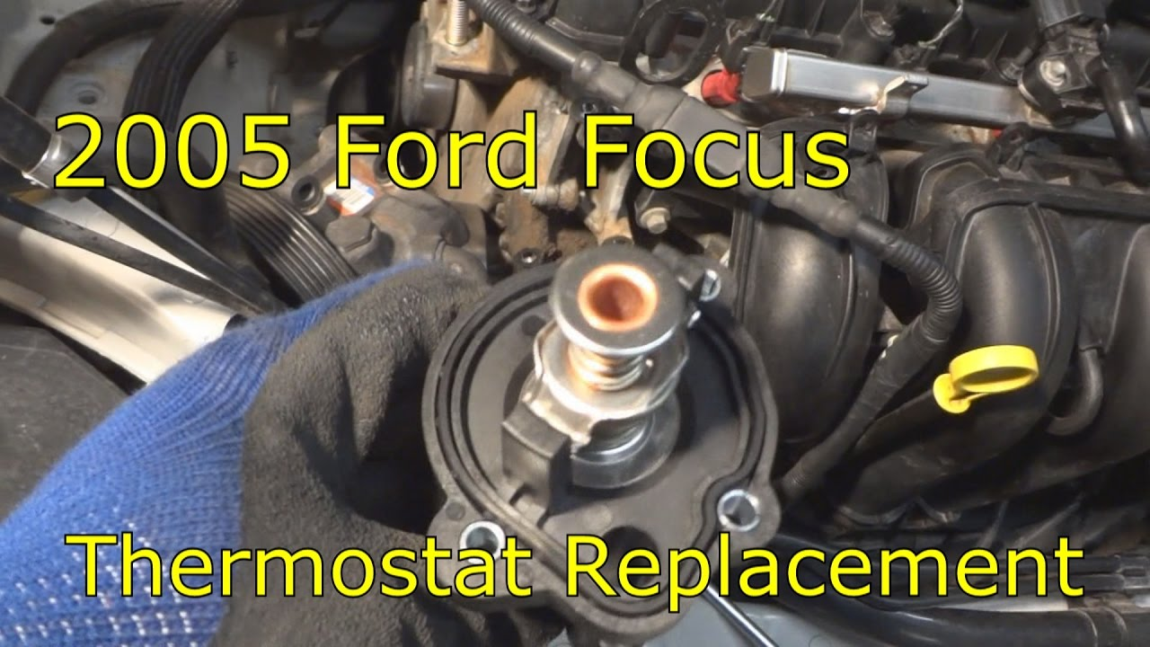 2000 ford focus thermostat diagram simplex addressable fire alarm system wiring 2005 replacement youtube