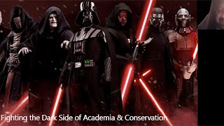 Fighting the dark side of Academia and Conservation presented by Dr Chris Parsons
