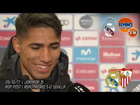 Declaraciones ACHRAF post Real Madrid 5-0 Sevilla (09/12/2017) | LIGA JORNADA 15 thumbnail