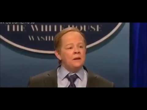 SNL Cold Open - Sean Spicer Press Conference (1)