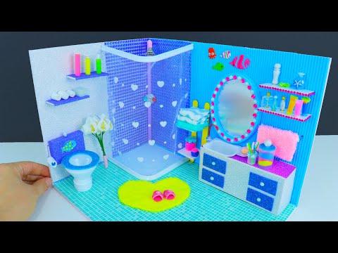 DIY Miniature Frozen Bathroom