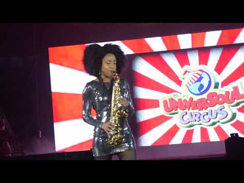 Snippet - Ashley Keiko at UniverSoul Circus (Roy Wilkins Park)
