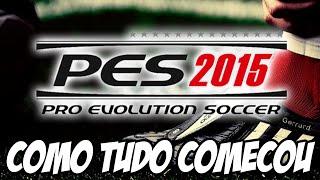 Pro Evolution Soccer 2015 - Como Tudo Começou Flamengo x Corinthians