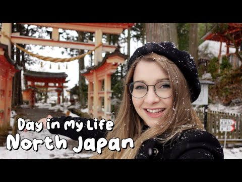 A Snowy Day in my Life in North Japan ⛩❄️