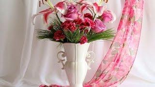 Самые красивые вазы для цветов(, 2015-08-04T14:01:03.000Z)
