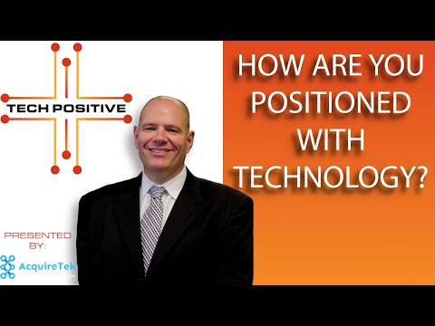 How are you positioned with Technology? | Tech Positive with Charlie Dino