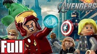 LEGO Marvel's Avengers Full Game Walkthrough - No Commentary [Walkthrough Part 1]