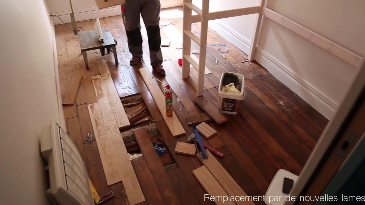 Comment Nettoyer Un Parquet Vitrifié Abimé rénovation de parquet abîmé - maison carpentier paris
