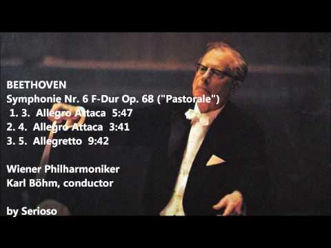 beethoven, pastorale symphony, 3,4,5mov, bohm