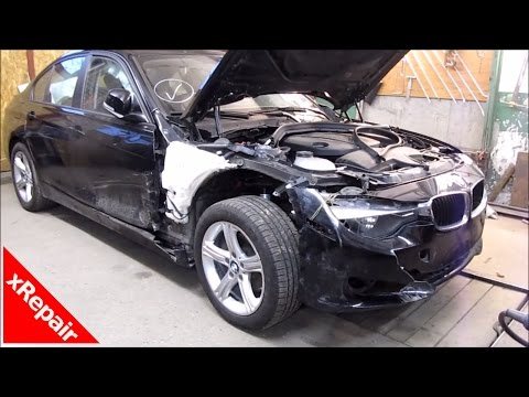 BMW 3 Series – Body Repair and paint (Door, Fender, & bumper)