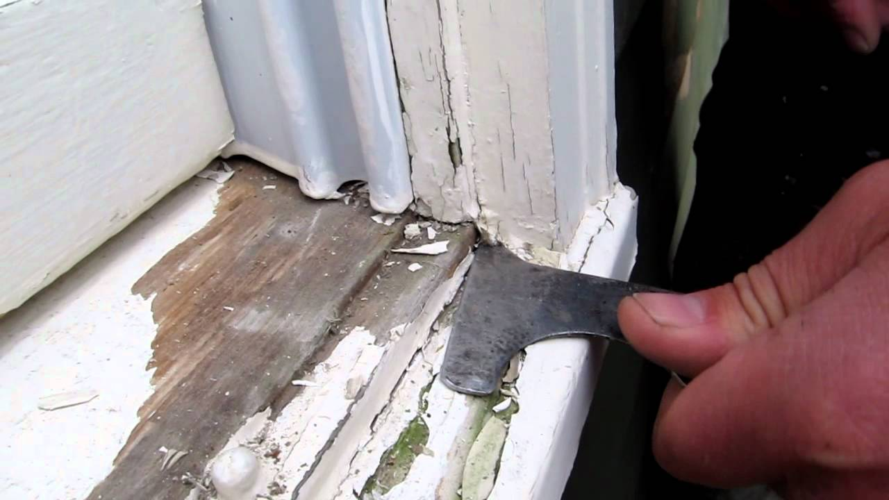 How To Paint Your House Scraping With A 5 Way Youtube