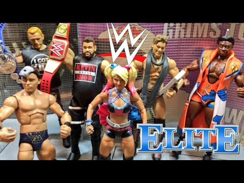 WWE ACTION INSIDER: ELITE 53 FULL SET WRESTLING FIGURE REVIEW FROM CRINGEY FAT COLLECTOR!