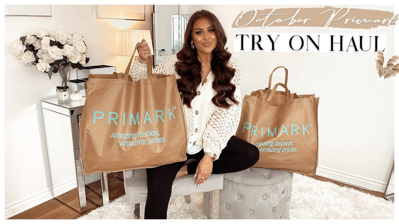 NEW IN PRIMARK | OCTOBER TRY ON HAUL!!