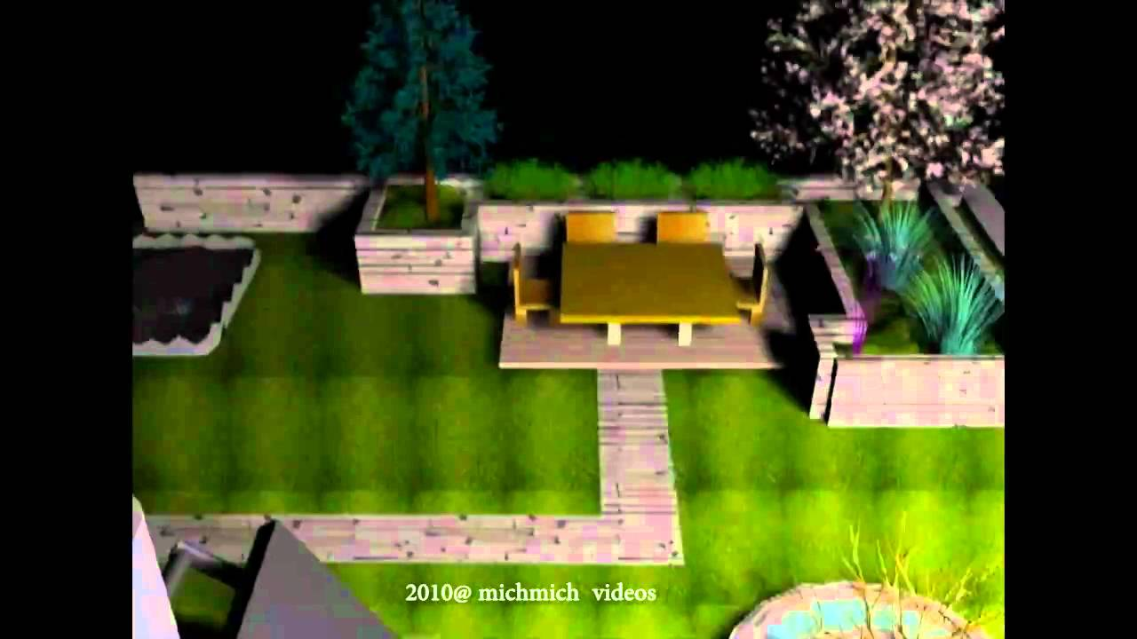 My roof garden test youtube for Gardening tools 3d model