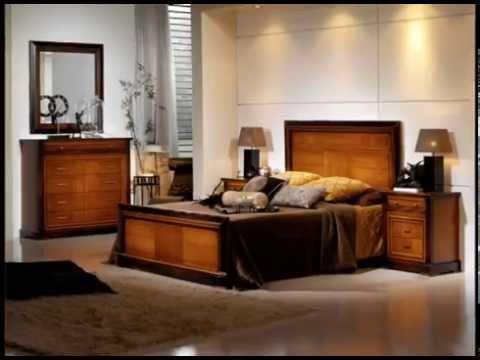 Dormitorios de matrimonio completos en madera con estilos - Dormitorio de madera ...