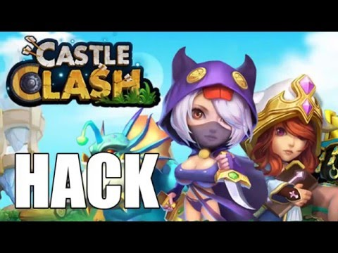 Castle Clash Hack Android IOS IPad IPhone No Root/No Survey