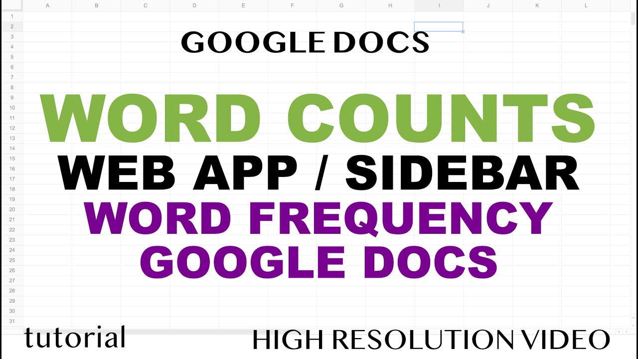 How to Create a Word Count Web App in Google Docs using Metro UI, HTML, JavaScript