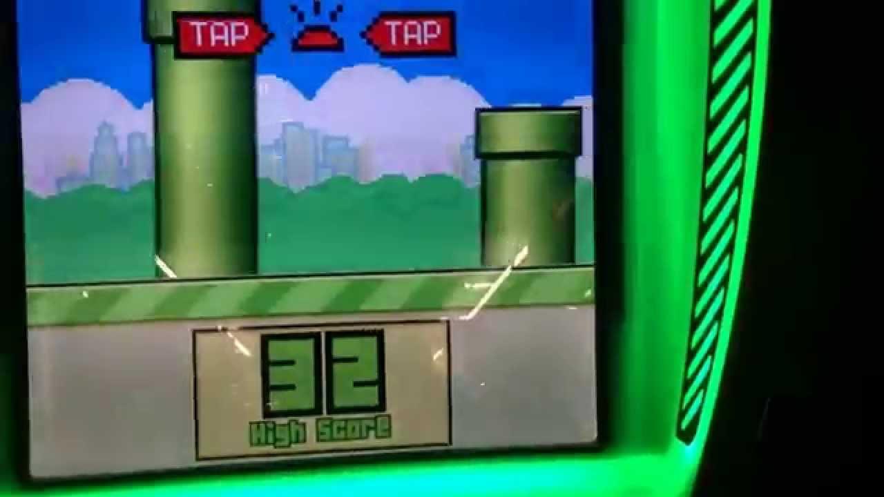 Flappy Bird Arcade Game VlogBlog YouTube - Flappy bird in real life