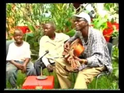 TPOK Jazz African acoustic guitar jam - Mahele & Bina na nga na respect