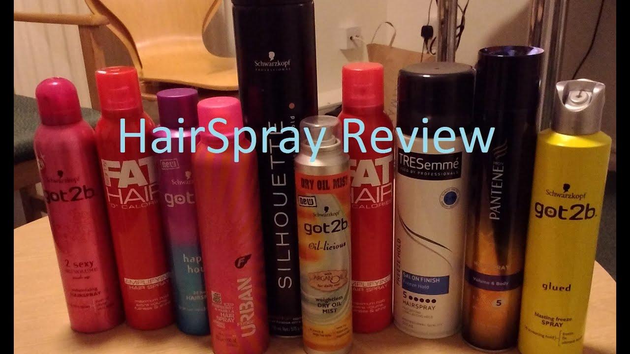 Hairspray Review Men S Hair Youtube