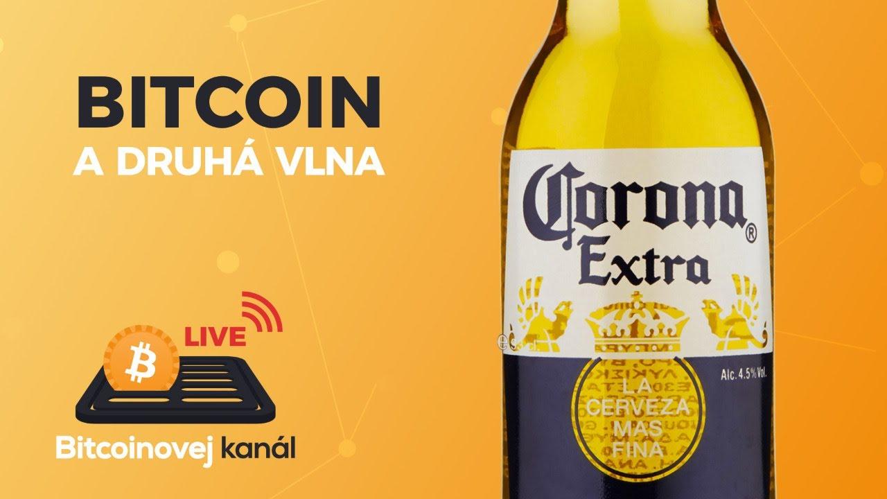 BK LIVE: Bitcoin a druhá vlna světové pandemie