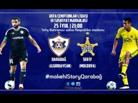 Qarabag 0-0 Sheriff  Qarabağ 0-0 Şerif Tiraspol  Карабах 0-0 Шериф UEFA Champions League