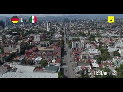 17 de Junio: así se vio la Ciudad de México durante el México-Alemania